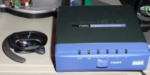 Linksys PSUS4 Printserver