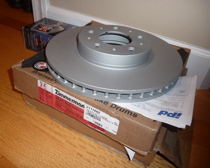 Volvo Front Rotor