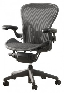 Aeron chairs can last forever since parts are easy to get and replace.