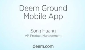 Intro for Video of Mobile Application Demo
