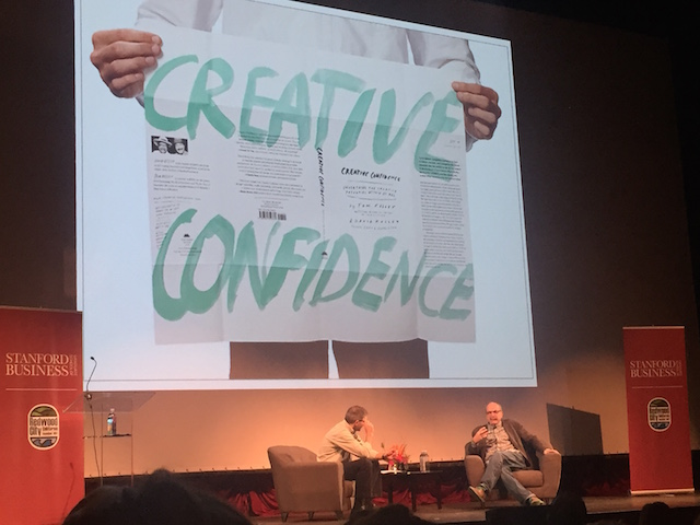 David Kelly gives an entertaining talk on Creative Confidence